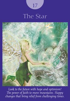 Oracle Card The Star | Doreen Virtue | official Angel Therapy Web site
