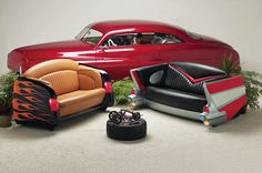 1957 Chevy Couch
