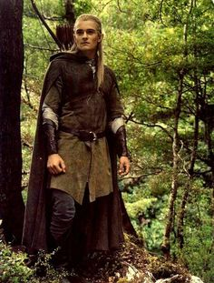 The Lord of the Rings. Legolas is my favorite