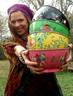 I want these gypsy bowls!!!