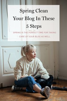 The spring is just around the corner. While you're in that arising cleaning up mode- make sure to take care of your blog as well. Follow these blogging tips to spring clean your blog in 5 easy steps.