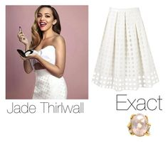 """""""Jade Thirlwall outfit for YOU Magazine"""" by manakda ❤ liked on Polyvore featuring Karen Millen"""