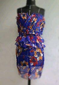 ANDRE VASSELLE  pleats dress