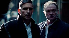 """Person of Interest """" Not now Finch,""""  from the extended finale of POI."""