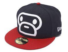 Milo Face 59Fifty Fitted Cap by BAPE x NEW ERA