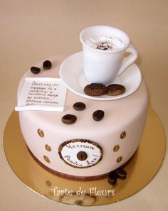Cup of coffee cake