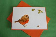 Items similar to Watercolor Greeting cards with robins. Each card individually made,this is not a print ~ Best Wishes Cards with robins. on Etsy Best Wishes Card, Handmade Cards, Handmade Gifts, Robins, Greeting Cards, Watercolor, Unique Jewelry, Etsy, Vintage