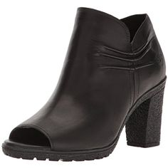 Women's Glancy Rouched Peep Toe Boot *** You can find out more details at the link of the image. (This is an affiliate link) #AnkleBootie