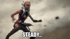 Ahsoka is a very balanced person, a true Mary-Sue, good at everything, has no flaws...
