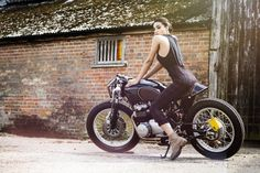 Honda Cafe Racer Ripon by Old Empire Motorcycles #motorcyclesgirls #chicasmoteras #caferacer | caferacerpasion.com