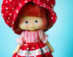 Raspberry's Flower Pink Bonnet and Dress por SugarElf en Etsy Vintage Books, Vintage Items, Vintage Strawberry Shortcake Dolls, Holly Hobbie, Toy Collector, Cute Toys, Barbie World, Retro, My Little Pony