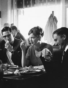 Mad Men cast members settling for cocktails INSTEAD of an Emmy.
