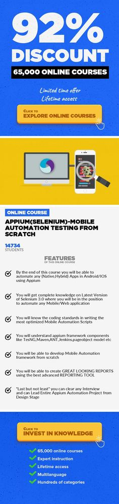Test automation frameworks 11 bdd mobile web automation testing appiumselenium mobile automation testing from scratch software testing development appium top class 200 lectures on mobile automation from basics to fandeluxe Images