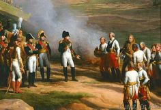 Charles Thevenin - Detail from The Surrender of Ulm, 20th October, 1805 - Napoleon and the Austrian generals, 1815