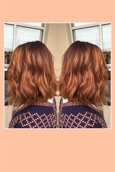 """Jetzt bekommen rotbraune Haare ein Update! Die Trendhaarfarbe heißt """"Pumpkin Spice Hair"""" und passt perfekt zu einem goldenen und strahlenden Herbst."""