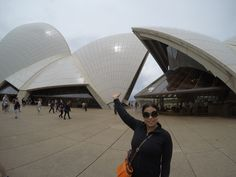 Exterior of the Opera House, Sydney, Australia