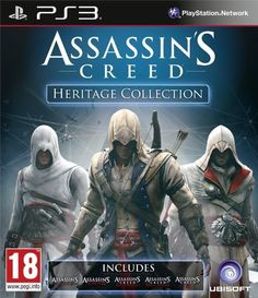 [PS3] Assassins Creed Heritage Collection