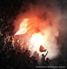 The Burning Stadium