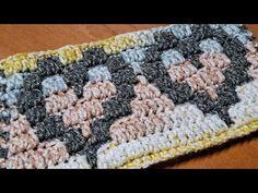 Crochet Squares, Crochet Patterns Amigurumi, Knitting Patterns, Crochet Chain, Cute Crochet, Crochet Mandala, Tapestry Crochet, Multiples Of 16, Crochet Designs