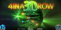L'applicazione gratuita di oggi 11 Novembre 2013 è 4 IN A 3D ROW