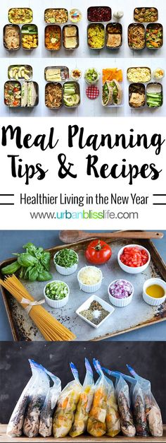 Top Meal Planning Tips and Recipes