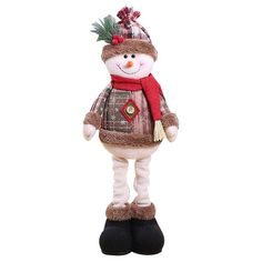 New 2019 Merry Christmas Ornaments Christmas Gift Santa Claus Snowman Tree Toy Doll Hang Decorations For Home Enfeites De Natal Merry Christmas, Mini Christmas Tree, Christmas Gifts For Kids, Handmade Christmas, Christmas Items, Xmas Tree, White Christmas, Christmas Holidays, Snowman Decorations
