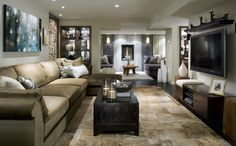 Candice O, Candice Olson Divine Design Living Rooms Together With Candice Olson Divine Design Bathrooms . [RealSearchRI] Home Interior Design And Decorating Home Living Room, Living Room Designs, Living Room Decor, Living Spaces, Small Living, Style At Home, Chic Retro, Devine Design, Basement Renovations