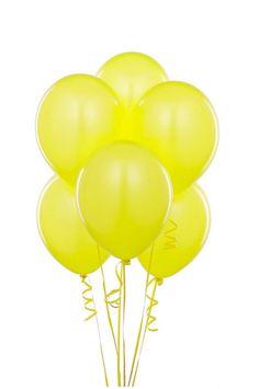 Yellow Balloons $4.95