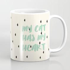 My Cat Has my heart Mug