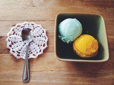 Hokkaido milk and mango .