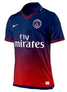 Photo : Maillot domicile PSG 2012-2013, idée #23 - LudovicPSG - Blog Football.fr