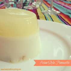 Asian Style Panacotta with Bent on Food