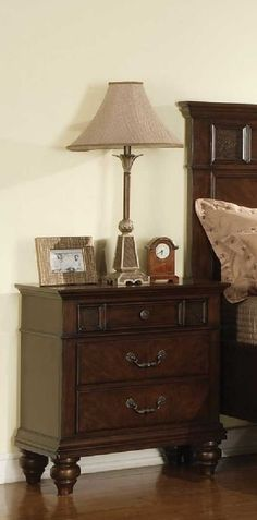 Sidney Nightstand with 3 Drawers and by Coaster -- For more details, go to image web link. (This is an affiliate link). Coaster Furniture, Dresser As Nightstand, Home Kitchens, Coasters, Drawers, Tango, Link, Home Decor, Image