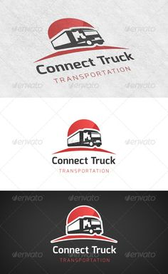 Truck Transport  - Logo Design Template Vector #logotype Download it here: http://graphicriver.net/item/truck-transport-logo/6503911?s_rank=1407?ref=nexion
