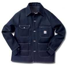 Chore Coat - Indigo Blue Denim- possibly the best purchase of the last year.