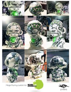 Mega Munny Custom
