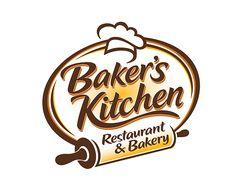 Bakers Kitchen Restaurant And Bakery Logo Pastry Logo Bakery