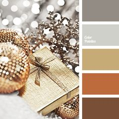 brown, color of gold, color selection, gray-brown, home color solution, light gray, New Year colors, New Year palette, orange-brown, shades of brown, shades of gray, winter colors, winter palette 2016.