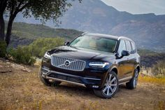 The all-new Volvo is a visually striking, premium quality seven seat SUV with world leading safety features, new powertrain technologies, an unrivalled. Volvo Xc90 2015, 3rd Row Suv, Volvo Models, Motor Diesel, Swedish Brands, Volvo Cars, Audi Q7, Luxury Suv, Cool Cars