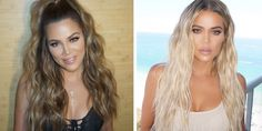 Khloé Kardashian's colorist, Tracey Cunningham, breaks down whether or not your hair can handle a major color transformation from brunette to blonde. Brunette To Blonde Before And After, Going Blonde From Brunette, Blonde With Dark Roots, Blonde Tips, Blonde Hair, Tracey Cunningham, Hair Color Balayage, Hair Colour, Natural Hair Styles