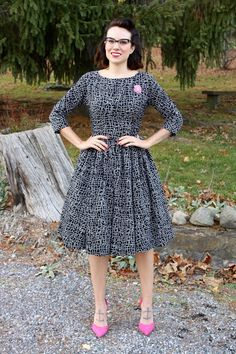 Gertie's New Blog for Better Sewing: B6284 in Jacks Print Sateen