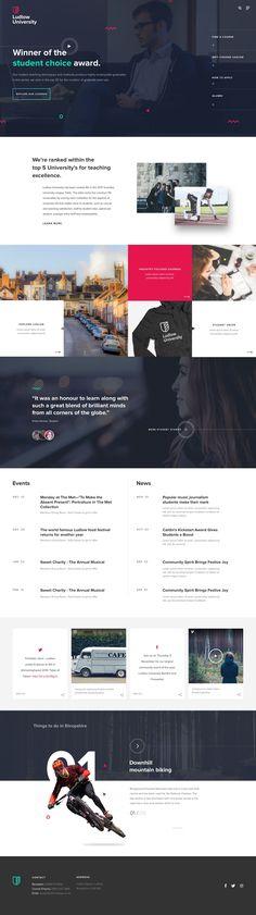 Homepage desktop