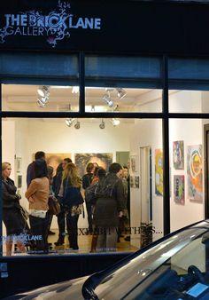 London The Brick Lane Gallery May 2015 Brick Lane, Contemporary Paintings, London, Abstract, Gallery, Modern, Brick Road, Summary, Trendy Tree