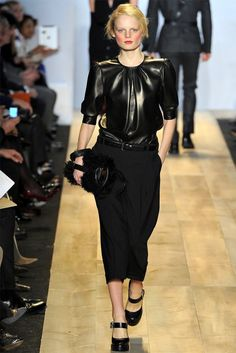 Hanne Gaby Odiele for Michael Kors Fall 2012