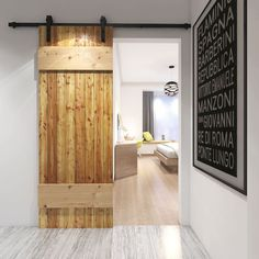 Rustic 100 sliding barn door hardware is ideal for creating a modern rustic finish in any home or property - available in matt black, antique rust or stainless steel finish. Buy online or speak to a member of our team. Modern Sliding Doors, Interior Sliding Barn Doors, Sliding Barn Door Hardware, Contemporary Interior Doors, Modern Home Interior Design, Hanging Barn Doors, Glass Barn Doors, Modern Barn, Modern Rustic