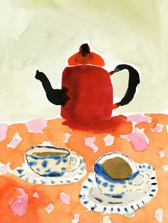 Bella Foster 'Teapot'   Stampa — Limited edition affordable art prints