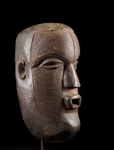 A fine and rare Kasai Luba mask