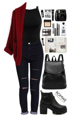 """Romwe 5"" by scarlett-morwenna ❤ liked on Polyvore featuring mode, Miss Selfridge, Aquaovo, Aesop, Bobbi Brown Cosmetics, NARS Cosmetics en MAKE UP FOR EVER"