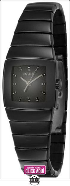 Rado - Reloj de pulsera mujer, cerámica, color negro  ✿ Relojes para mujer - (Lujo) ✿ ▬► Ver oferta: http://comprar.io/goto/B007HBM6Y8