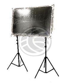 Panel reflector difusor rectangular de 140x200mm desmontable con soporte  www.cablematic.es/producto/Panel-reflector-difusor-rectangular-de-140x200mm-desmontable-con-soporte/